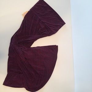 Lularoe XS maxi skirt. NWT blue/ red a-line skirt.